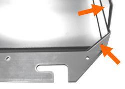 (3)Отогните обратно 90°, согните треугольник